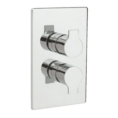 Tre Mercati Ora Concealed 2 Outlet Thermostatic Shower Valve With Diverter