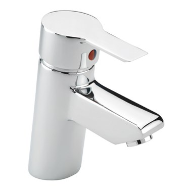 Tre Mercati Angle Mono Basin Mixer With Pop Up Waste