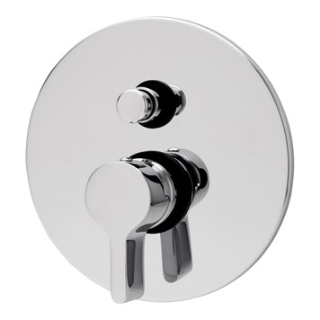 Tre Mercati Cabana Concealed Manual Shower Valve With Push Button Diverter - 2 Outlet