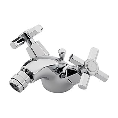 Tre Mercati Charleston Mono Bidet Mixer With Pop Up Waste