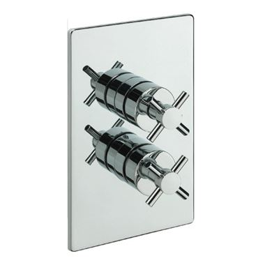 Tre Mercati Erin Concealed 2 Outlet Thermostatic Shower Valve With Diverter