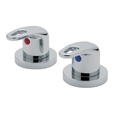 "Tre Mercati Latina Deck Mounted Side Valves 3/4"" (Pair)"