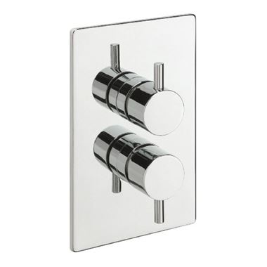 Tre Mercati Bella Concealed 2 Outlet Thermostatic Shower Valve With Diverter