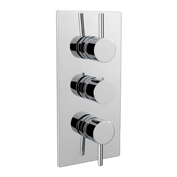 Tre Mercati Milan Concealed 3 Outlet Thermostatic Shower Valve With Diverter