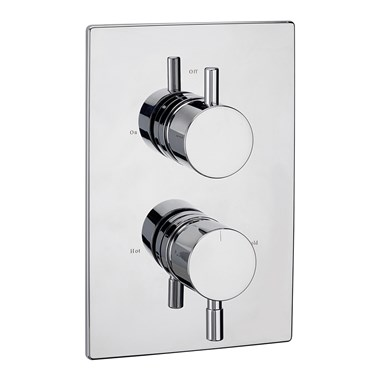 Tre Mercati Milan Concealed 1 Outlet Thermostatic Shower Valve