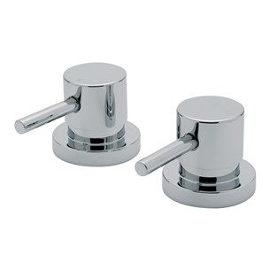 "Tre Mercati Milan Deck Mounted Side Valves 3/4"" (Pair)"
