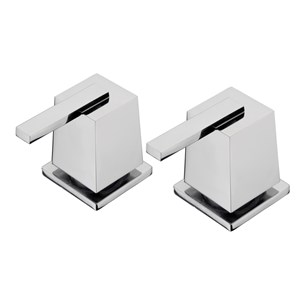 "Tre Mercati Mr Darcy Deck Mounted Side Valves 3/4"" (Pair)"