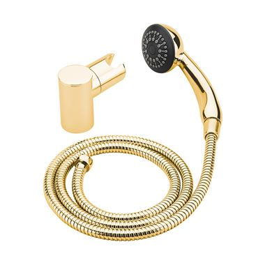 Tre Mercati Orta Mini Round Shower Kit - Antique Gold