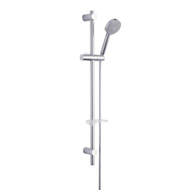 Tre Mercati Poppy Single Mode Slide Rail Shower Kit with Adjustable Fixing