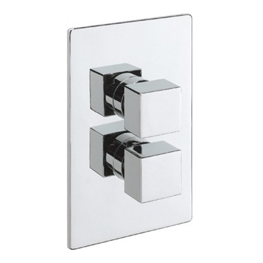 Tre Mercati Geysir Concealed 2 Outlet Thermostatic Shower Valve With Diverter