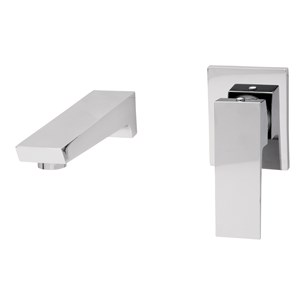 Tre Mercati Wilde Wall Mounted 2 Hole Basin Mixer