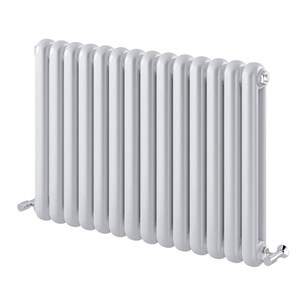 Brenton Saturnia White Horizontal Column Radiator - 600 x 860mm