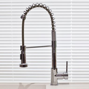 Sagittarius Trieste Kitchen Sink Mixer with Pullout Spray