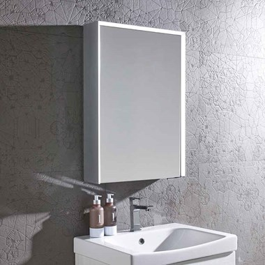 Roper Rhodes Tune LED Illuminated Bluetooth Mirror Cabinet with Stereo Speakers