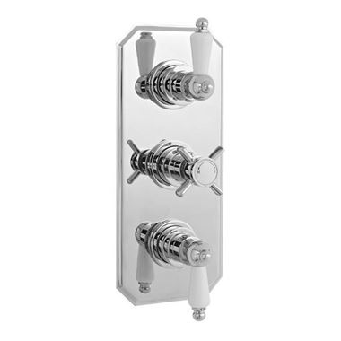 Ultra Beaumont Concealed Thermostatic Triple Shower Valve