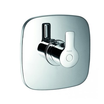 Flova Urban Concealed Thermostatic Mixer for Low Pressure Water Systems (Excludes Shut-Off Valve)