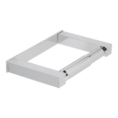 Vado Square Covered Toilet Paper Holder
