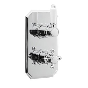 Valquest Traditional 1 Outlet Concealed Thermostatic Shower Valve