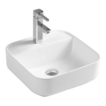 Drench Sophia Square 1 Tap Hole Countertop Basin - 400 x 400mm