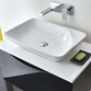 Phoenix Rectangular Shallow Countertop Basin