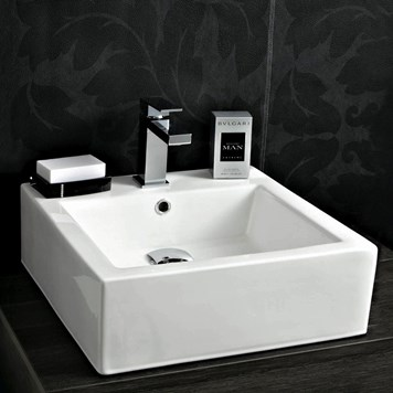 Phoenix Single Tap Hole Countertop or Wall Hung Basin