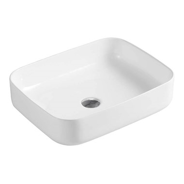 Drench Sophia Rectangular Countertop Basin - 510 x 400mm