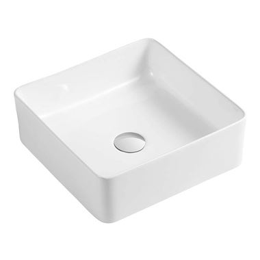 Drench Sophia Square Countertop Basin - 370 x 370mm