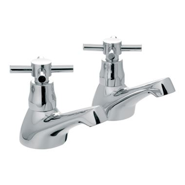 Vado Vecta Bath Pillar Taps