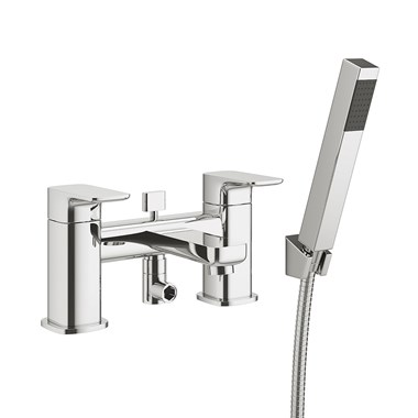 Vellamo Panache Bath Shower Mixer with Shower Kit