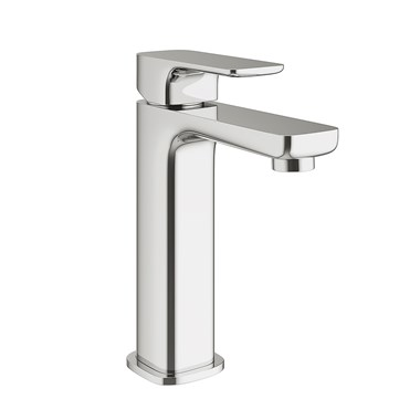 Vellamo Panache Medium Basin Mixer with Clicker Waste