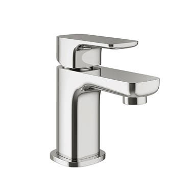 Vellamo Panache Small Basin Mixer with Clicker Waste