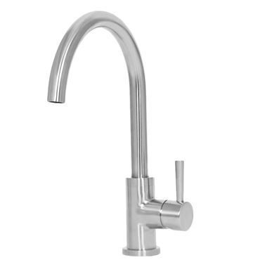 TW Alva Stainless Steel Kitchen Sink Mixer Tap