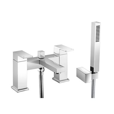 Vellamo Aspire Bath Shower Mixer with Shower Kit