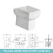 Harbour Icon Compact 900mm Furniture Suite inc. Vanity & Basin and Toilet Unit - Avola Grey