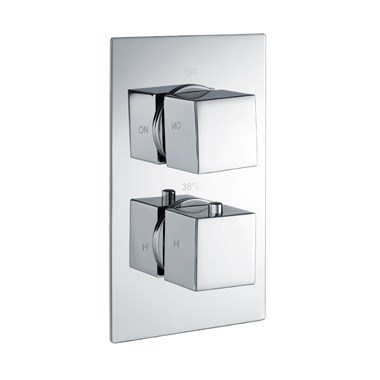 Vellamo Blox 1 Outlet Concealed Thermostatic Shower Valve