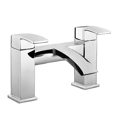 Vellamo City Waterfall Bath Mixer Tap