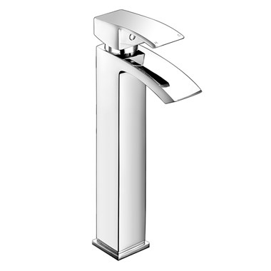 Vellamo City Waterfall Tall Basin Mono Mixer Tap