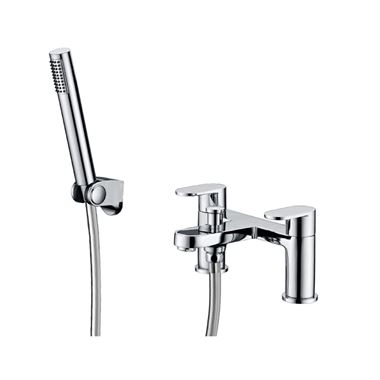 Vellamo Connect Bath Shower Mixer with Handset Kit