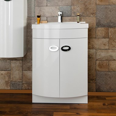 Vellamo Dream 600mm Basin Vanity Unit