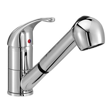 Vellamo Echo Pull Out Spray Kitchen Mixer Tap