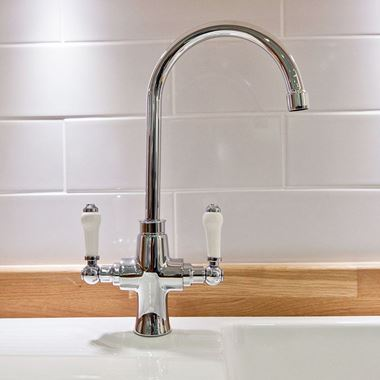 Butler & Rose Elizabeth Traditional Kitchen Mixer Tap Chrome