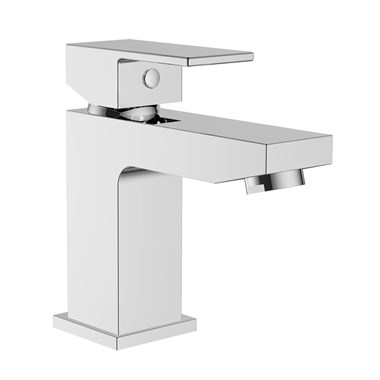 Vellamo Forte Mono Basin Mixer Tap with Free Clicker Waste