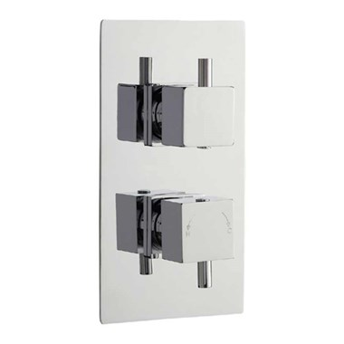 Vellamo Four Single Outlet Concealed Thermostatic Shower Valve
