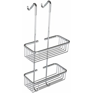 Vellamo Hanging Double Wire Soap Basket