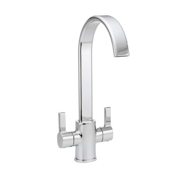 Vellamo Jolly Kitchen Sink Mixer Tap - Chrome
