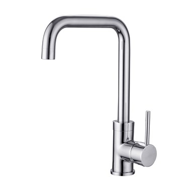 Vellamo Koro Kitchen Sink Mixer Tap - Chrome