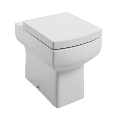 Vellamo Kube Back to Wall Toilet with Soft-Close Seat
