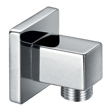 Vellamo Premium Brass Square Shower Outlet Elbow