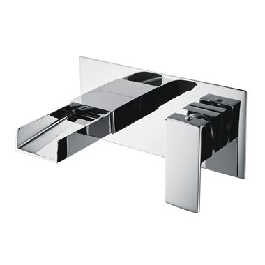 Vellamo Maya Wall Mounted Basin Mixer