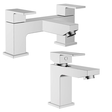 Vellamo Forte Basin Mixer & Bath Filler Value Pack